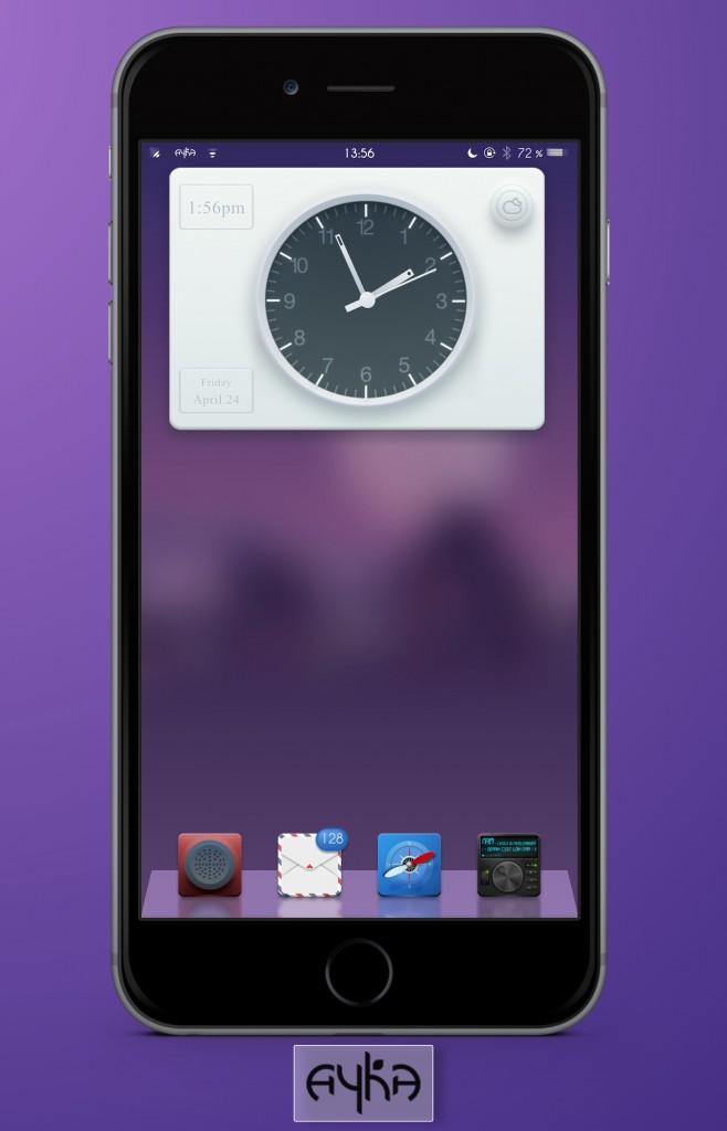 Ayka iWidget iOS8