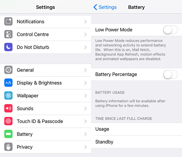 battery-settings