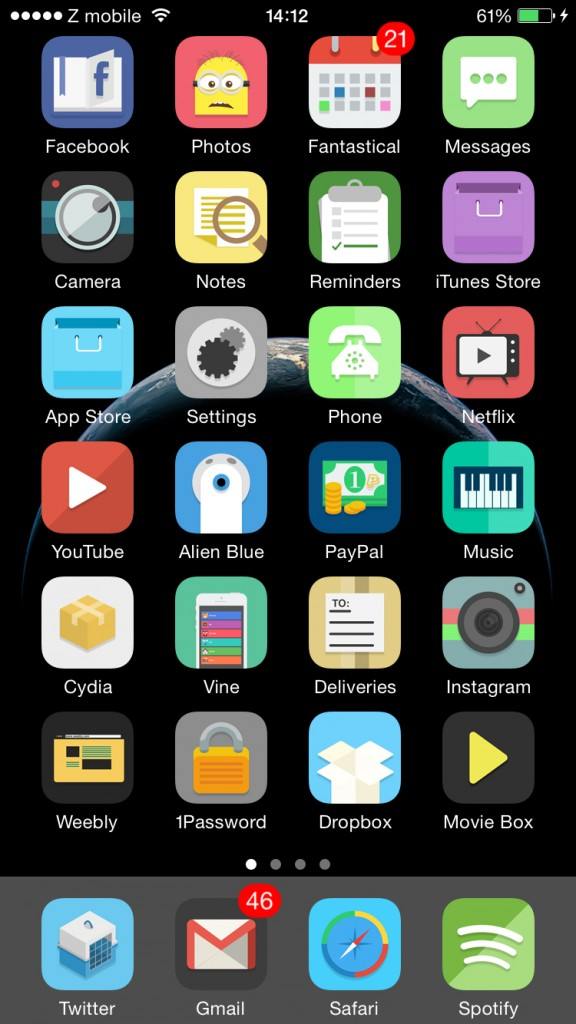 Mustache for iOS 8