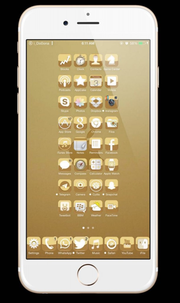 Golden Brown Theme (1)