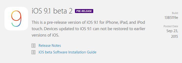 iOS-9-1-beta-2