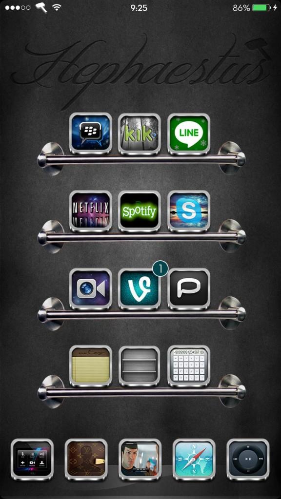 Hephaestus iOS 9 HD Theme (2)