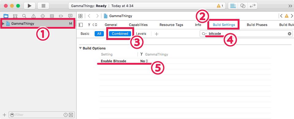 turn-off-enable-bitcode-xcode7