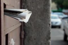Mail in your door