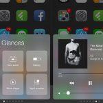 Glances : コントロールセンター部分を変更し左右にスワイプするApple Watchのグランス風に [脱獄アプリ]