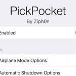 PickPocket : iPhoneを盗難から守る多機能なセキュリティTweak [脱獄アプリ]