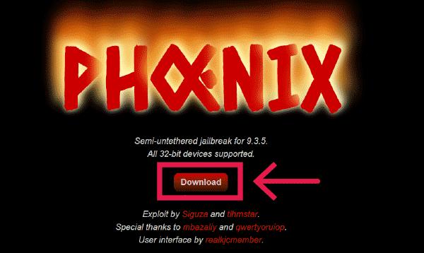 公式サイトからphoenixのIPAファイルをダウンロード