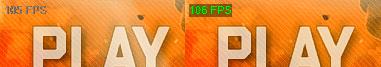 FPSを表示―ハイコントラスト