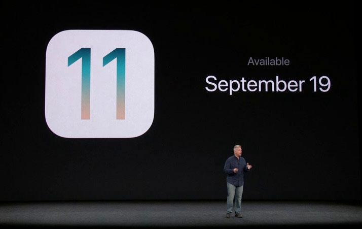 iOS11のリリース日は9月19日
