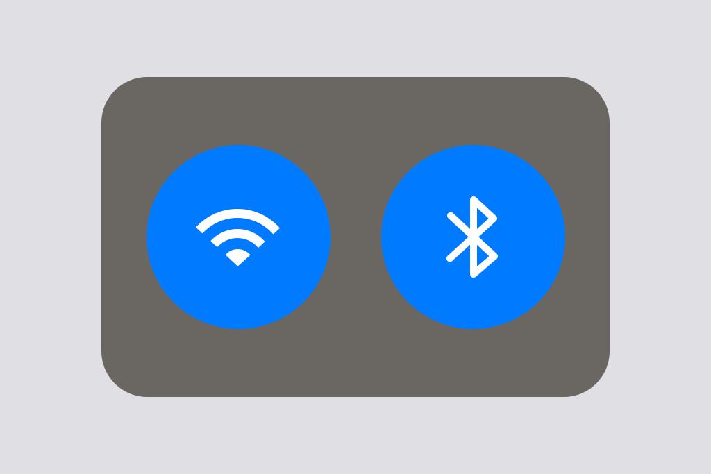 iOS11のWiFiとBluetoothトグル